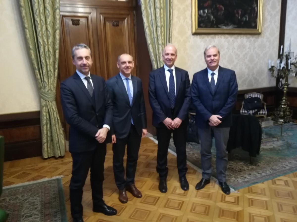 L'UPI ricevuta dal Ministro dell'Istruzione Marco Bussetti