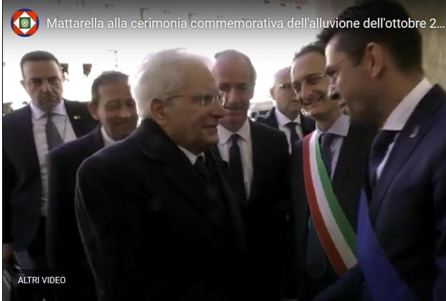 Il Presidente della Repubblica Sergio Mattarella a Belluno: l'intervento del Presidente della Provincia Padrin