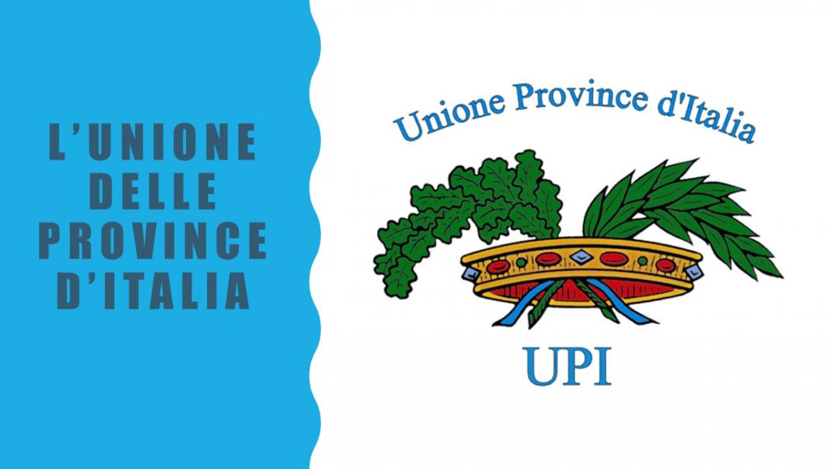 UNIONE DELLE PROVINCE D'ITALIA: CI PRESENTIAMO